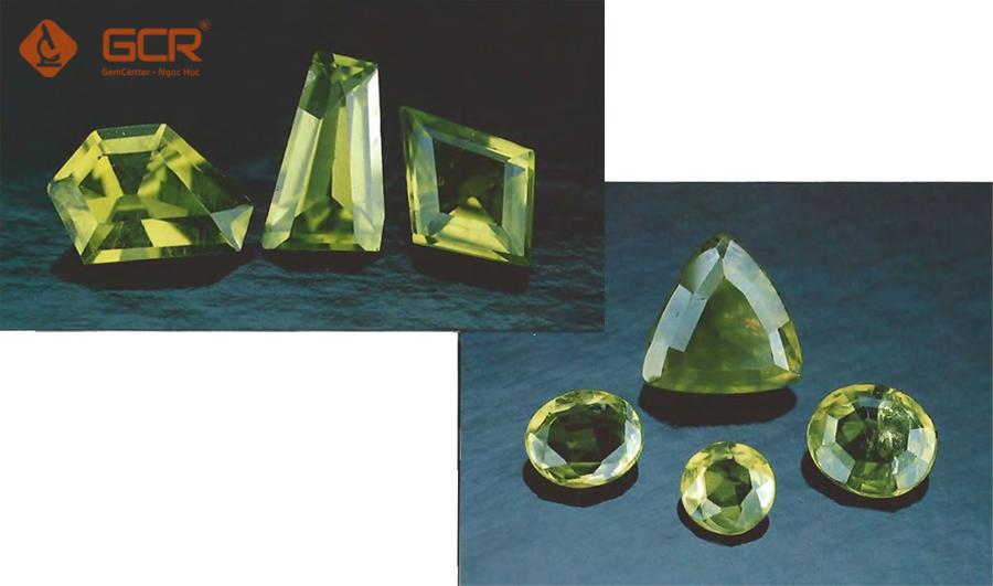 Peridot có nguồn gốc ngoài Trái Đất