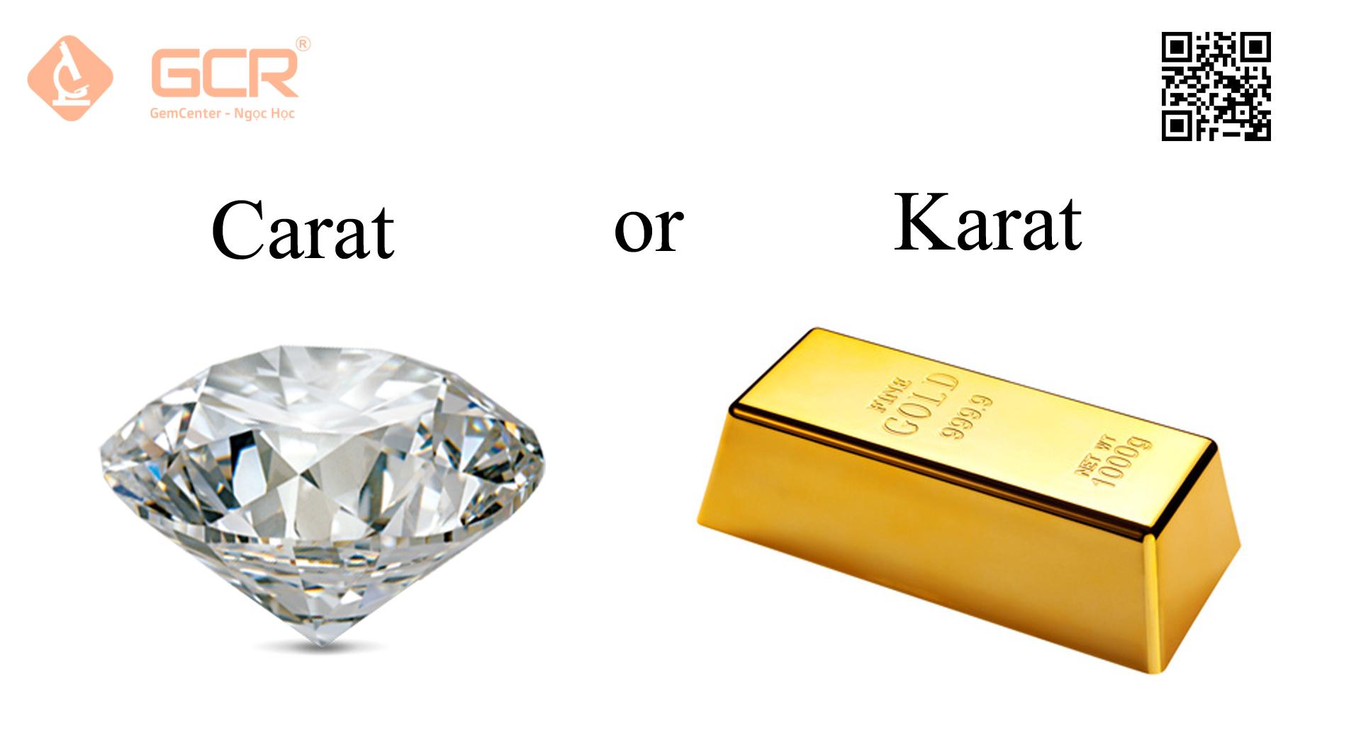 carat or Karat?
